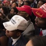 young blacks with MAGA