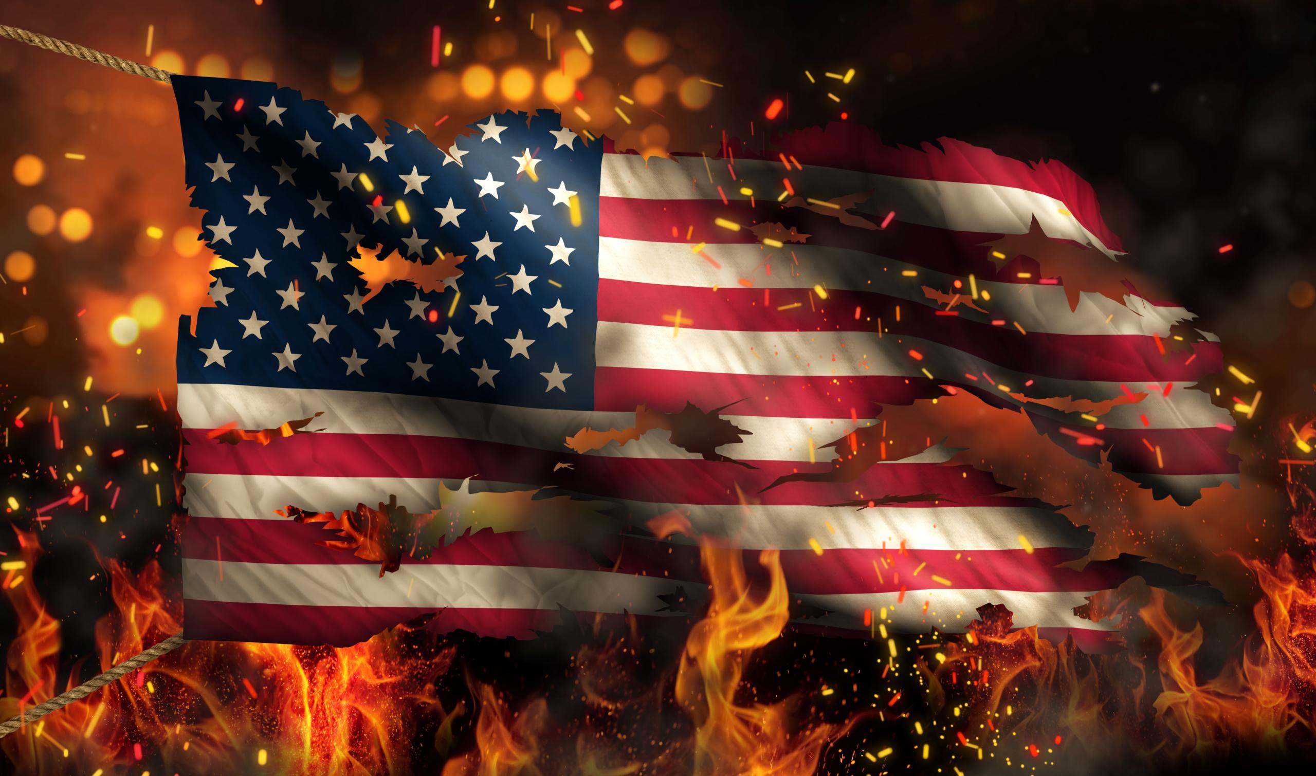 America is on fire