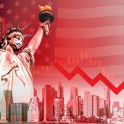 America in decline due to COVID-19 Scam